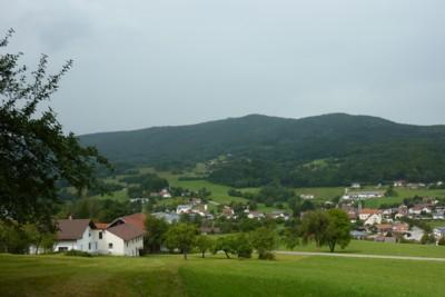 Zenting im Bayerischen Wald.