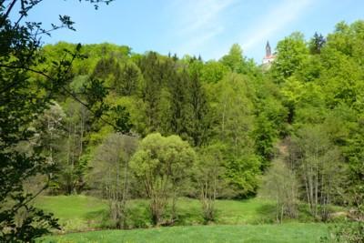 Burg Ranfels in der Region Sonnenwald.