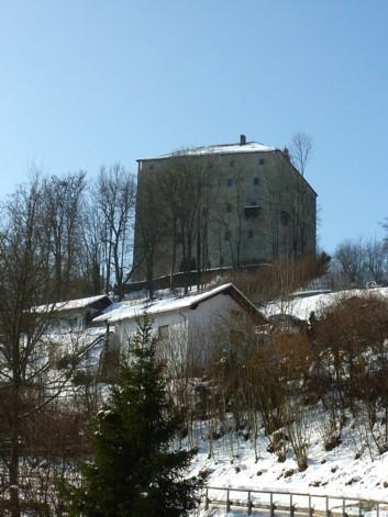 Die Waldlaterne von Saldenburg.