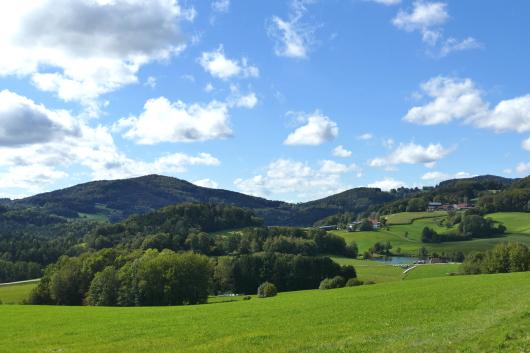Blick auf den Ebenreuther See.