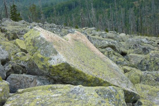 Ein steinernes Riesen-Herz