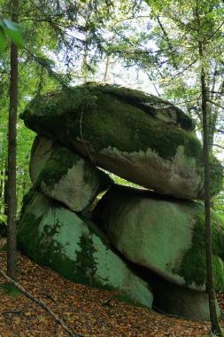 Große Felsen bei Rettenbach.