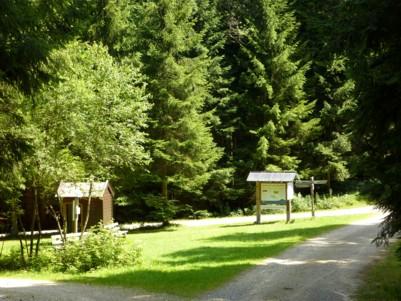 Kapelle beim wandern bei Frauenau im Bayerischen Wald