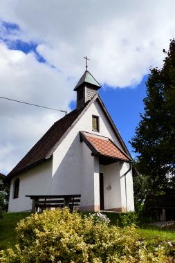 Kapelle in Ebenreuth, Bayerischer Wald.