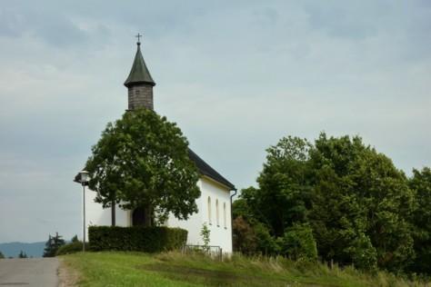 Die Kapelle von Innenried.