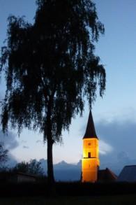 Thurmansbang bei Nacht.