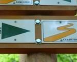 Wandern auf dem Goldsteig im Nationalpark Bayerischer Wald.