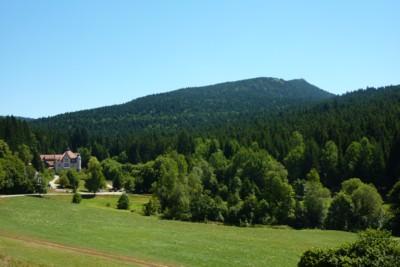 Osserblick von Lambach aus.