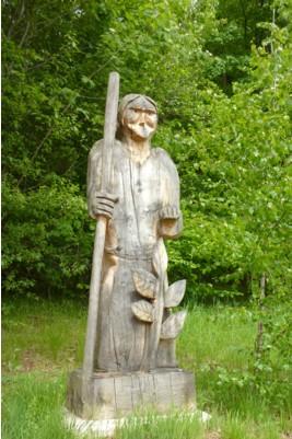 Der Hl. Gunther, der den Bayerischen Wald besiedelte.
