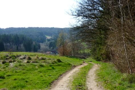 Richtung Goben von Bründlkapelle