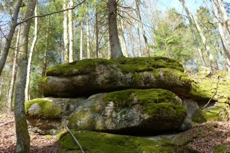 Steinreiche Gegend hier.