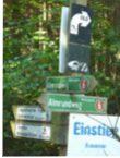 Wanderwege zum Wandern im Bayerischen Wald bei Frauenau.