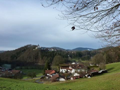 Blick auf die Burg Ranfels.