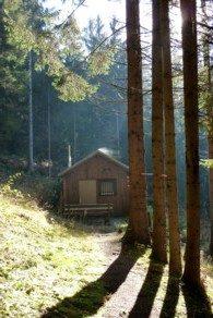 Wandern im Bayerischen Wald bei Zwiesel.